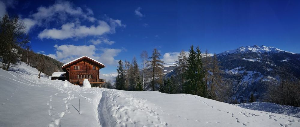 Beautiful chalet in the Swiss Alps. Chalet Val D'Anniviers