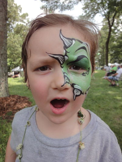 Art Boy Casual Clothing Child Cute Day Dragon Face Face Paint Face Painted Face Painted Child Face Painting Face Portrait Faces Of Summer Festival Festivals Focus On Foreground Fun Funny Kid Leisure Activity Lifestyles Paint Portrait Toothy Smile
