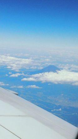Air Plane Mount FuJi mount