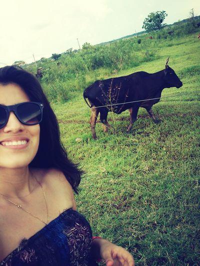 Con un Toro En carmendelparana :)