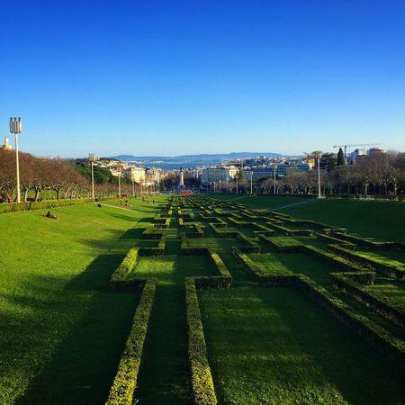 Sunny Day Sun In Lisbon Lisboa