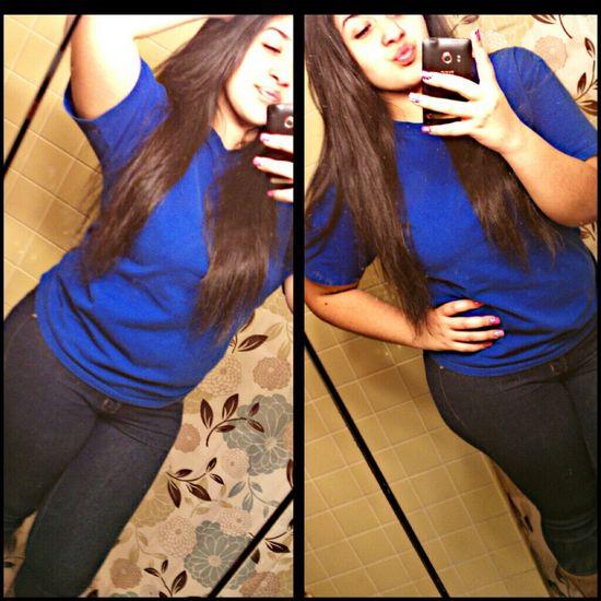 I Just Love Blue(: Muahh :*
