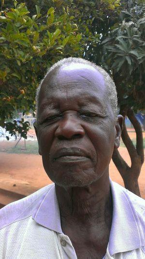 Grandfather In Law Naam Okora Northern Region Uganda  Proud Acholi Acholiland