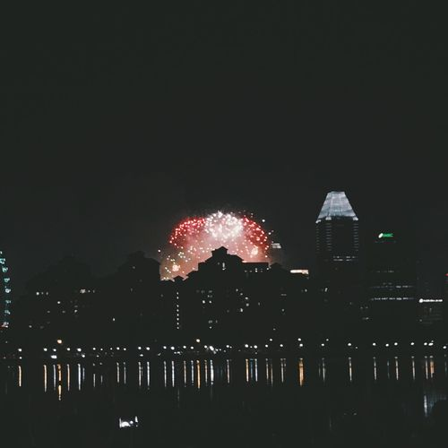 Singapore Kallangwave Fireworks Firework Display Firework Building Buildings Midnight Newyearseve Newyears NewYear