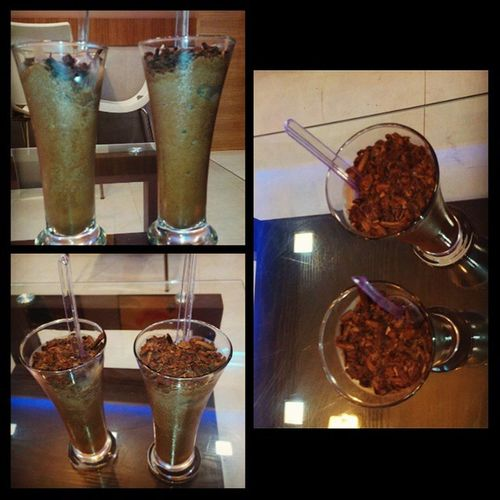 Happiness is having chochlate shake with best buddy to forget the problems Darkchochlate FirstLove Lovethemost Chochlateicecream NoEdits  Instapic