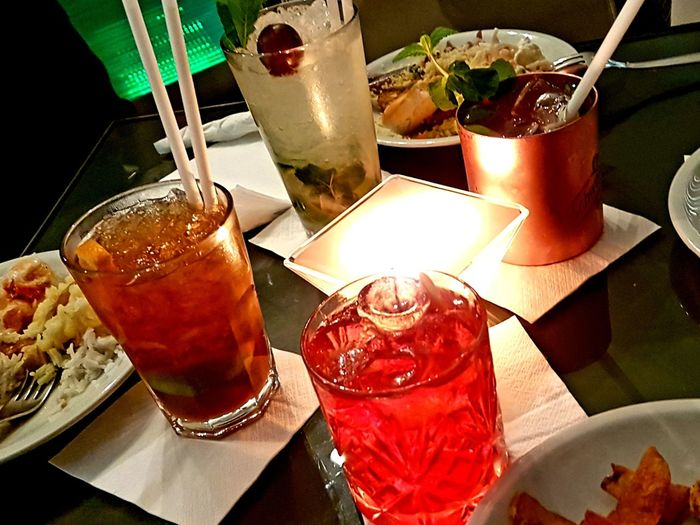apperitivo time in Italy Apperitive Bars And Restaurants Italy❤️ Mojito Drink Alcohol Drinking Glass Cocktail Ice Cube Drinking Straw Table Cola Close-up