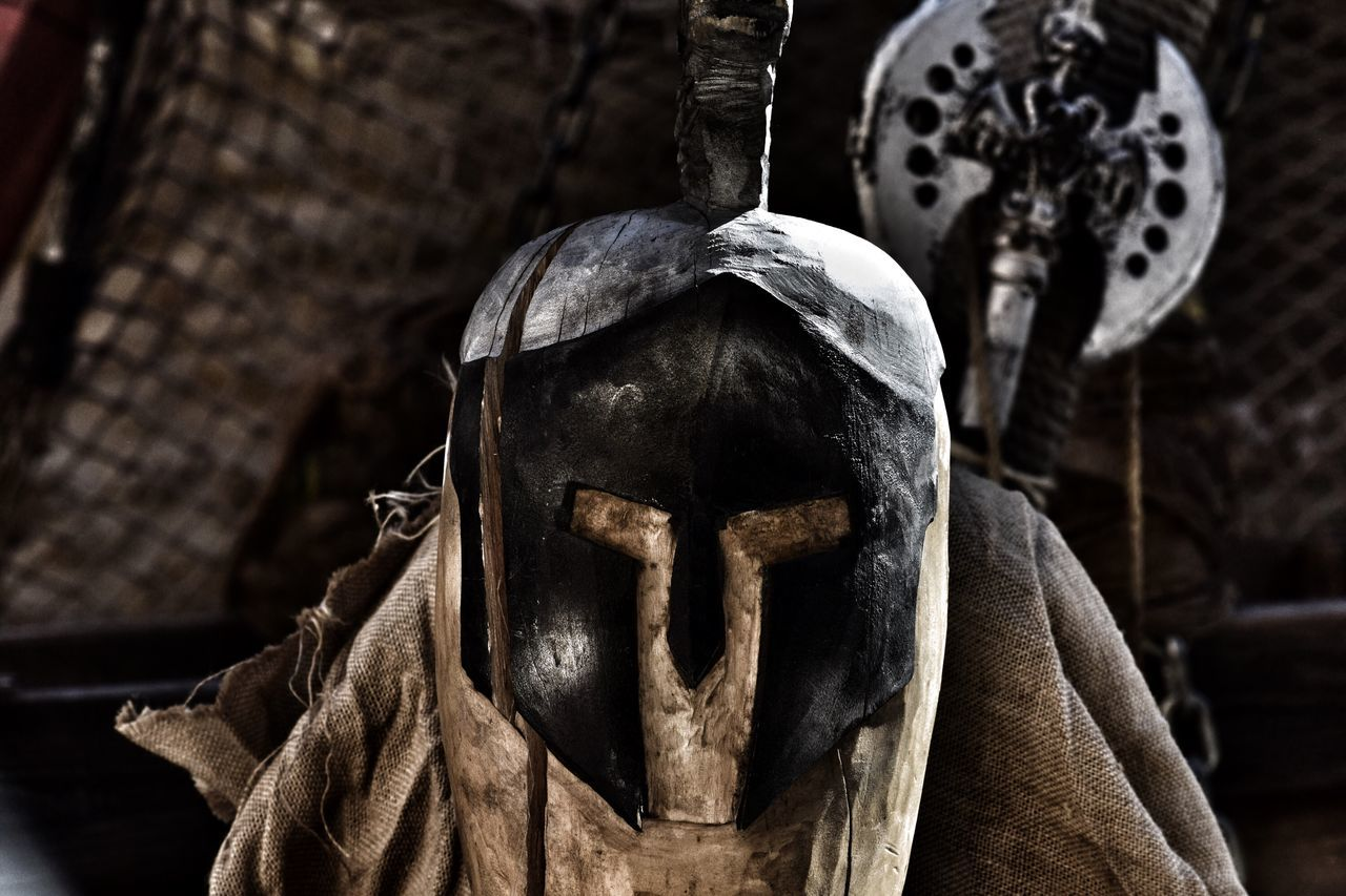 EyeEm Selects Helmet Armor Medieval No People Portrait