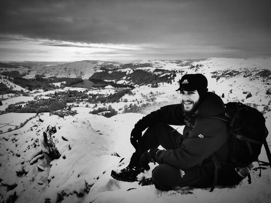Sitting on Helm Crag was beautiful soaking in the beauty of the snow and views . The Lake District  Helm Crag Snow Beautiful Nature Mountain Equipment
