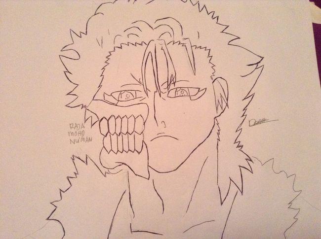 Finally done, Drawing Grimmjo <3 <3 <3, Anime OtakuAnime AnimeDaisukiForLife KAWAII Drawing