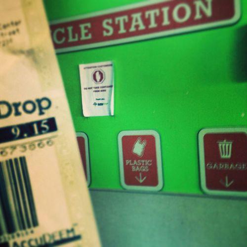Recycle Bottle Drop