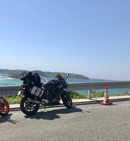 Water Sea Sky Nature Real People Clear Sky Motorcycle