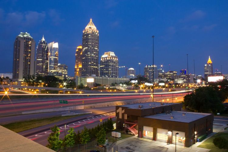 Midtown Atlanta View Atlanta ATL Georgia Skyline Cityscape Architecture Cityscapes Fine Art Photography