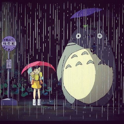 Remember this scene @mariajuanamariajuana? I miss you too. Myneighbortotoro Totoro