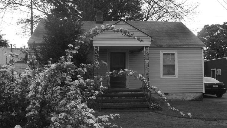 Home Sweet Home Scottdale Georgia Flowers Urban Atlanta Ga Atlanta Black And White Black & White Black And White Photography Urban Landscape