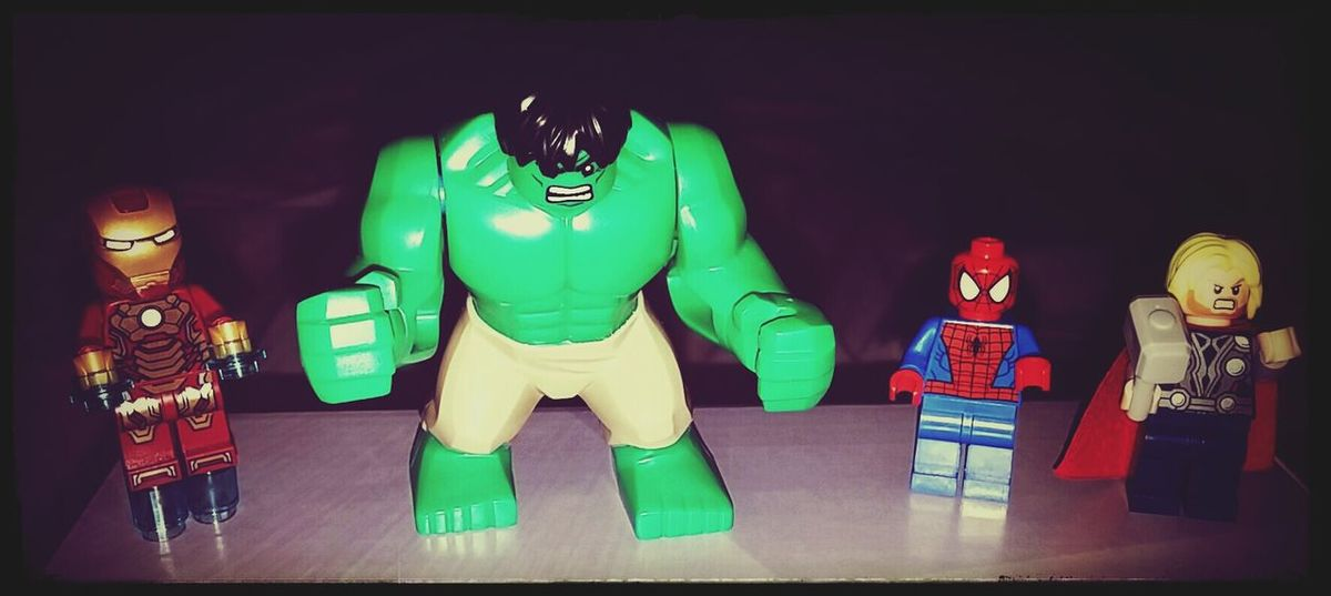 Avengers Assemble!!! Marvel Lego  AvengersAssemble The Hulk Ironman