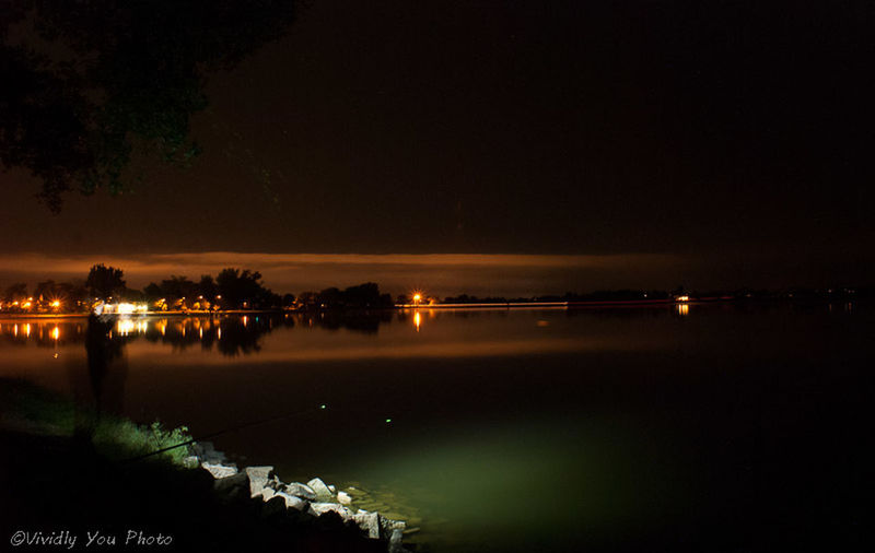 Night Fishing Taking Photos Clouds And Sky Water And Sky