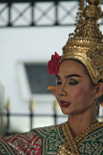 Temple Dancer Temple Dancer Erawan Shrine Thailand Temple Dancer Bangkok Colour Beautiful Peaceful Looking Down Spirituality Buddhist Temple One Woman Only One Young Woman Only Only Women Arts Culture And Entertainment One Person Adults Only Adult Headshot Gold Colored Beauty People Close-up Young Adult Beautiful Woman Portrait Young Women Outdoors Day
