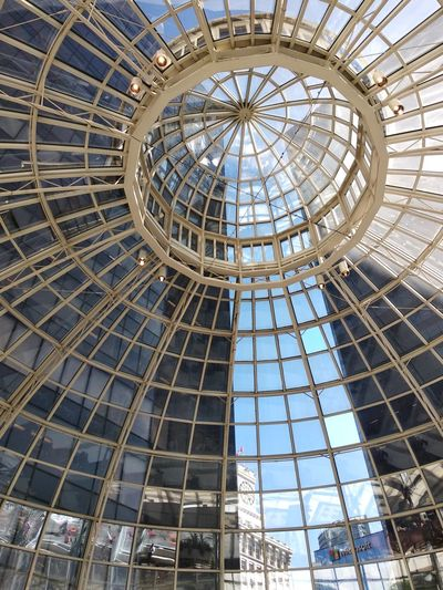 Nice glass dome roof Downlights Dome Roof Glass - Material Structure Mobilephotography Indoor Building Interior Design Mobile Photography Translucent Canada Summer Vancouver Vancouver BC British Columbia Travel Architecture City Ferris Wheel Arts Culture And Entertainment Amusement Park Architecture Sky Built Structure Architectural Style Transparent Rooftop Clock Urban Scenery