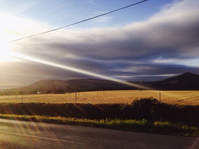 6.30am cycle for breakfast. Porridge Cycle Summer Ireland