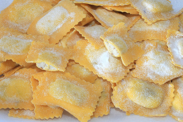 stuffed pasta made by hand mushroom tortelli Pasta Close-up Food Food And Drink Freshness High Angle View Indoors  Indulgence No People Ready-to-eat Snack Still Life Stuffed Pasta Temptation Tortelli Unhealthy Eating