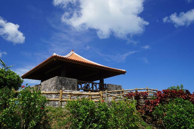 沖縄県 ( Okinawa ) 石垣島 ( Ishigaki  Ishigaki Island Ishigakijima )の 玉取崎展望台 です。たまには展望台そのものもいいかなと思って。