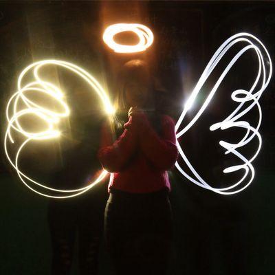 Angel Angel Long Exposure Light Slow Shutter