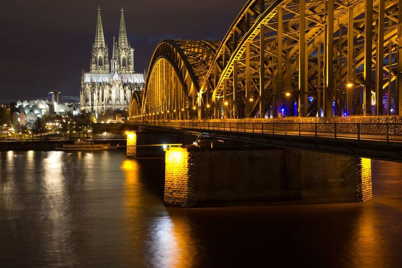 Cologne at Night Night Cologne
