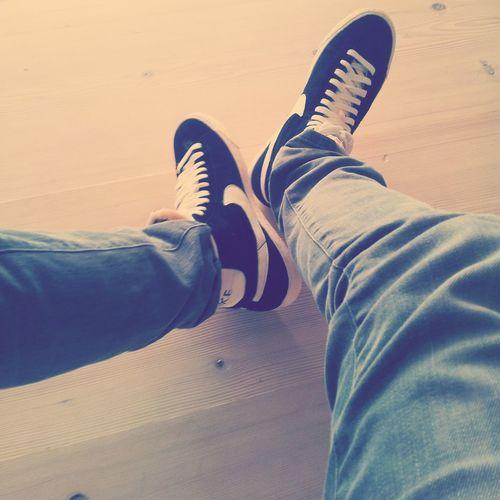 New Shoes! Nike Blazer *-* Nike Shoe Black