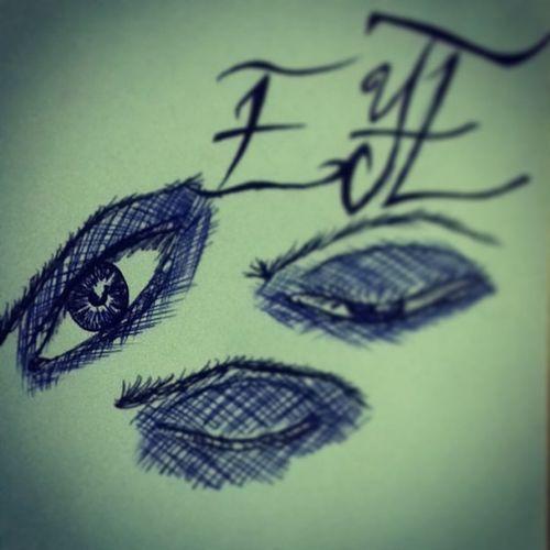 Eye Draw Drawing Blue Black Pen Pencil Picture Cool Cool Shine Face Girl Fashion Fashiongirl  Fashioneye Eyebrown Photo Photoart Art Artist Like Like4like Love Follow follow4followgoodinstagoodinstalikeinstafollowinstafashion