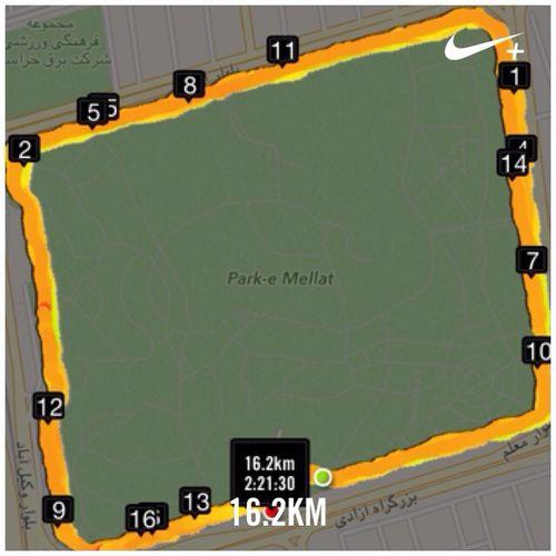 Workout Nike Running Nikeplus