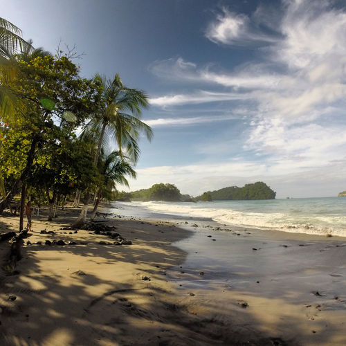 Costa Rica Manuel Antonio Manuel Antonio National Park Costa Rica 🇨🇷 Beach Beauty In Nature Holiday Nature Outdoors Palm Tree Sand Sea Sky Tranquility