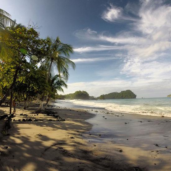 Costa Rica Manuel Antonio Manuel Antonio National Park Costa Rica 🇨🇷 Beach Beauty In Nature Holiday Nature Outdoors Palm Tree Sand Sea Sky Tranquility