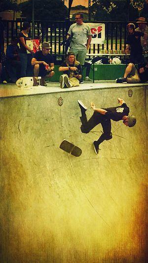 Skatepark Skateboard Skate Young Enjoying Life Hello World Relaxing