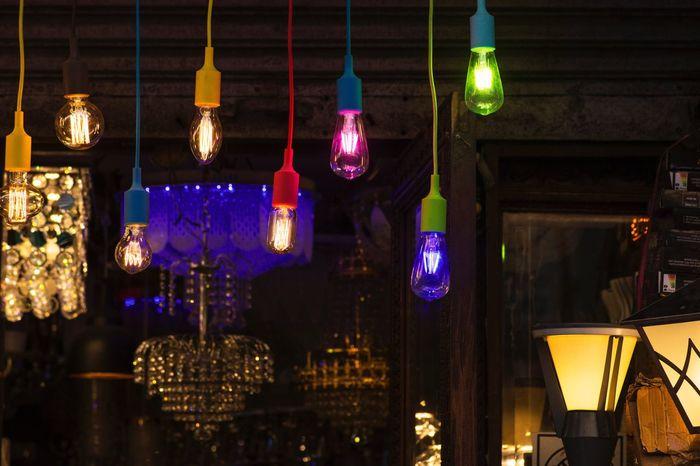 Diwali Vintage Vintage Lights Lights Colors Popular Low Key Romance Feelings Festival Festive Mood Festive Decor Festival Of Lights Hanging Illuminated Indoors  No People Night Vertical Tokina AT-X Pro Macro 100 F2.8 D Nikon