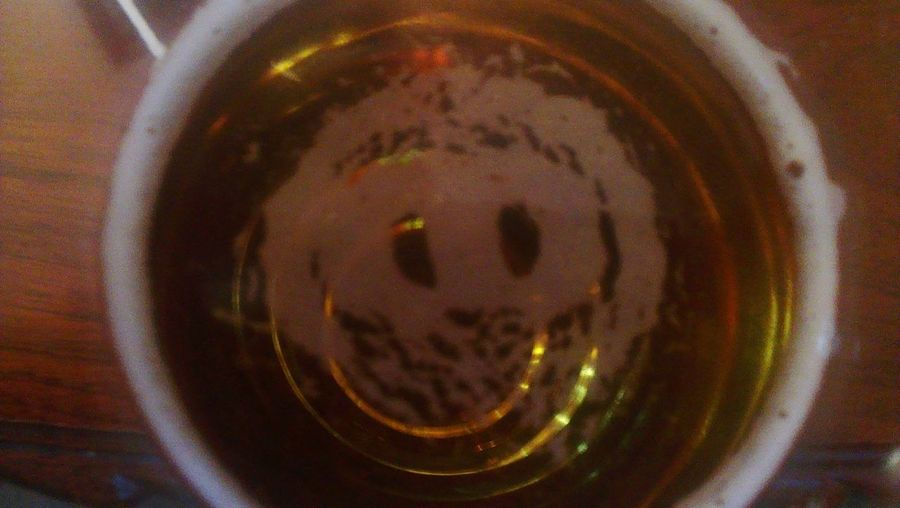 "Puts a new meaning to ""Beer Skull!"" Beer Picture Ghost In Beer"