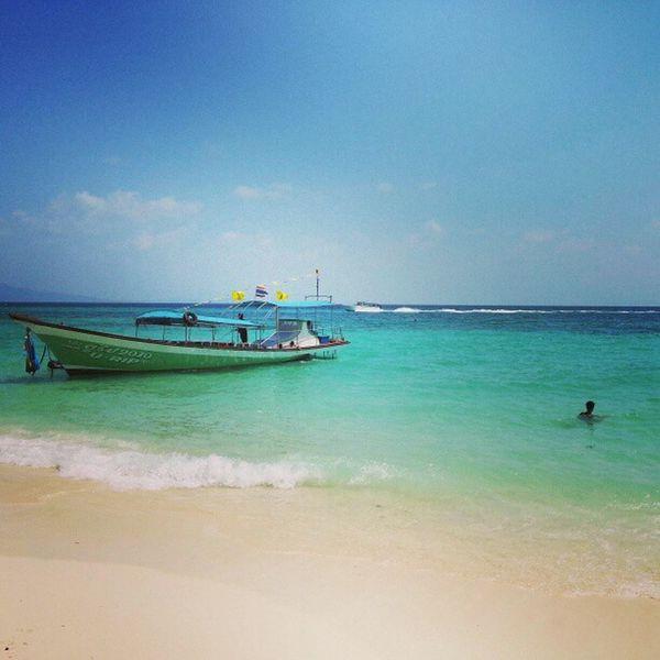 Från dagsutflykten på alla öar runtom Phi Phi! Den här från bamboo-island Bambooisland Phiphi Thailand Livingthedream follow followback followbackalways perfection