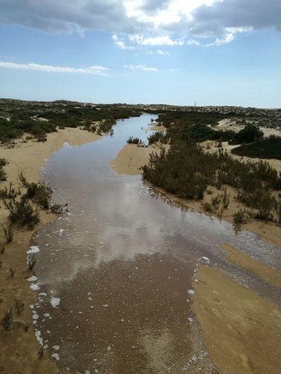 Water Sand Dune Low Tide Sea Beach Sand Sky Landscape
