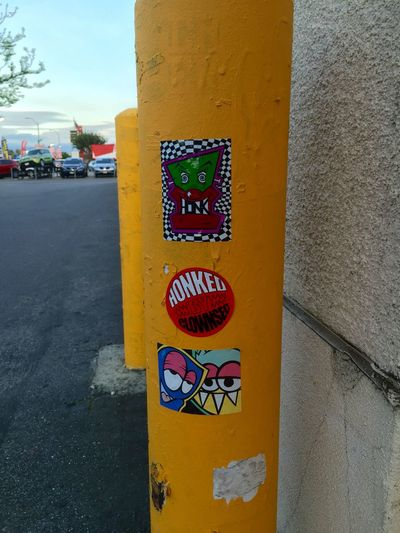 Clownsec Clown Street Art/Graffiti Street Art Streetart Sticker Art Stickerbomb Slaps  Stickerart Drawing