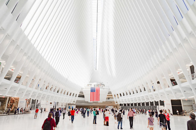 Colorful commuters in new york Adult Adults Only American Flag Architecture Architecture Colorful Commerce Commuter Commuters Crowd Day Design Global Ice Rink Indoors  Large Group Of People New York City Path People Shoppers Travel Travel Destinations