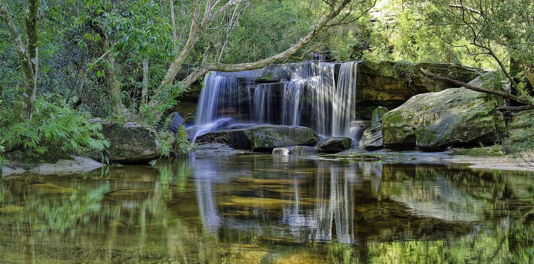 Waterfall Panorama HDR Hdr_Collection Landscape_Collection Landscape Water Reflections HDR Collection Landscapes Landscape Photography