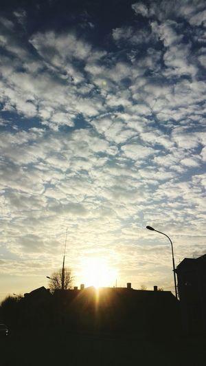 Sky and Clouds sky♥ tree♥cloud♥l love