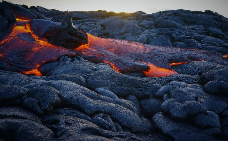 all about lava Lava Geology Volcano Nature Extreme Terrain Outdoors Beauty In Nature Volcanic Landscape Active Volcano Molten Power In Nature Natural Phenomenon Heat - Temperature