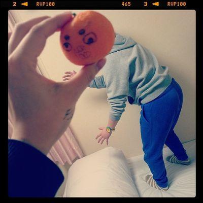 うがぁー? Orange HEAD Girl Monster