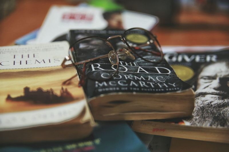 My favorite books Food For Soul Reading A Book Eye4photography  Alchemist The Road The Giver Books From My Point Of View Canon 6D Inspirations
