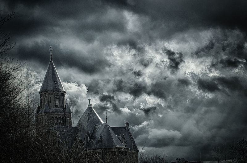 god is watching Architecture Building Exterior Built Structure Church Cloud - Sky Clouds And Sky Day Dramatic Sky EyeEm HDR HDR Collection Hdr Edit Hdr_Collection Nature No People Outdoors Place Of Worship Religion Sky Spirituality Sun Leak Tree Long Goodbye