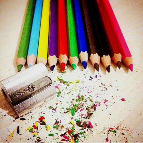 Colors Pencilart Pencil Picoftheday Goodshoots Tabledesing Perfection Good Evening