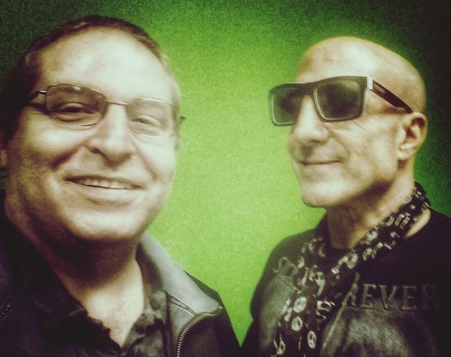 Got to meet a true inspiration. Kenny Aronoff Drum Clinic Columbus Percussion Snapseed