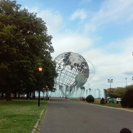 New York Queens Flushing World Unisphere View The Architect - 2017 EyeEm Awards