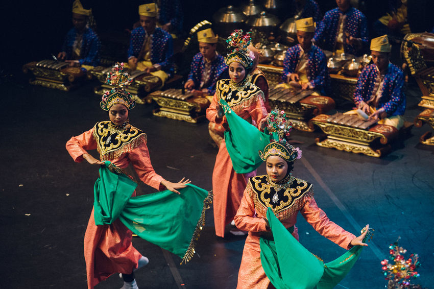 Art Is Everywhere Celebration Cultures Dancing Day Gamelan High Angle View Indoors  Lifestyles Men Performance Performing Arts Real People Religion Sculpture Spirituality Statue Togetherness Tradition Traditional Festival The Photojournalist - 2017 EyeEm Awards