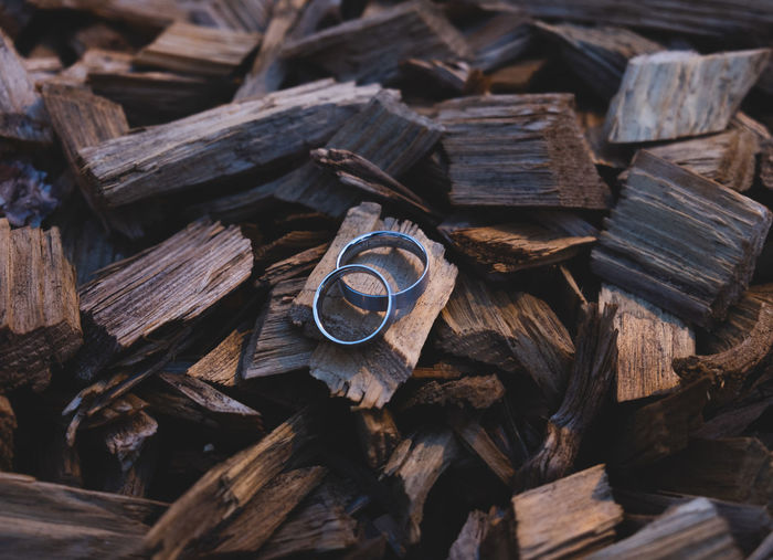EyeEm Best Edits EyeEm Best Shots EyeEm Nature Lover EyeEm Selects EyeEmBestPics Wedding Wedding Photography Abundance Backgrounds Brown Close-up Deforestation Firewood Forest Full Frame Heap Large Group Of Objects Log Lumber Industry No People Ring Stack Still Life Textured  Timber Tree Wedding Ring Wood Wood - Material Woodpile